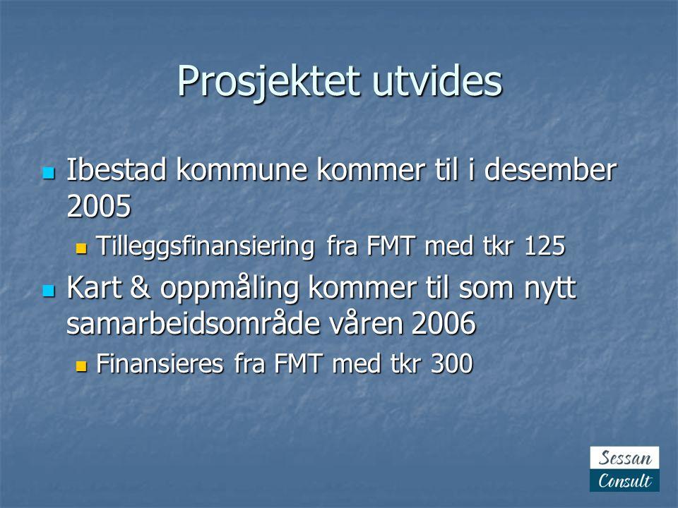 Prosjektet utvides Ibestad kommune kommer til i desember 2005