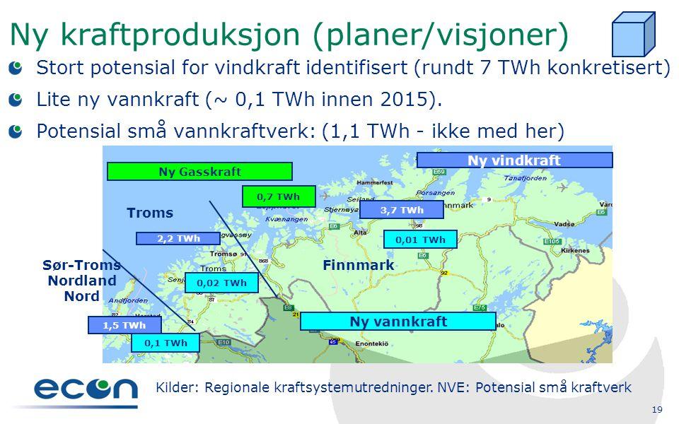 Ny kraftproduksjon (planer/visjoner)