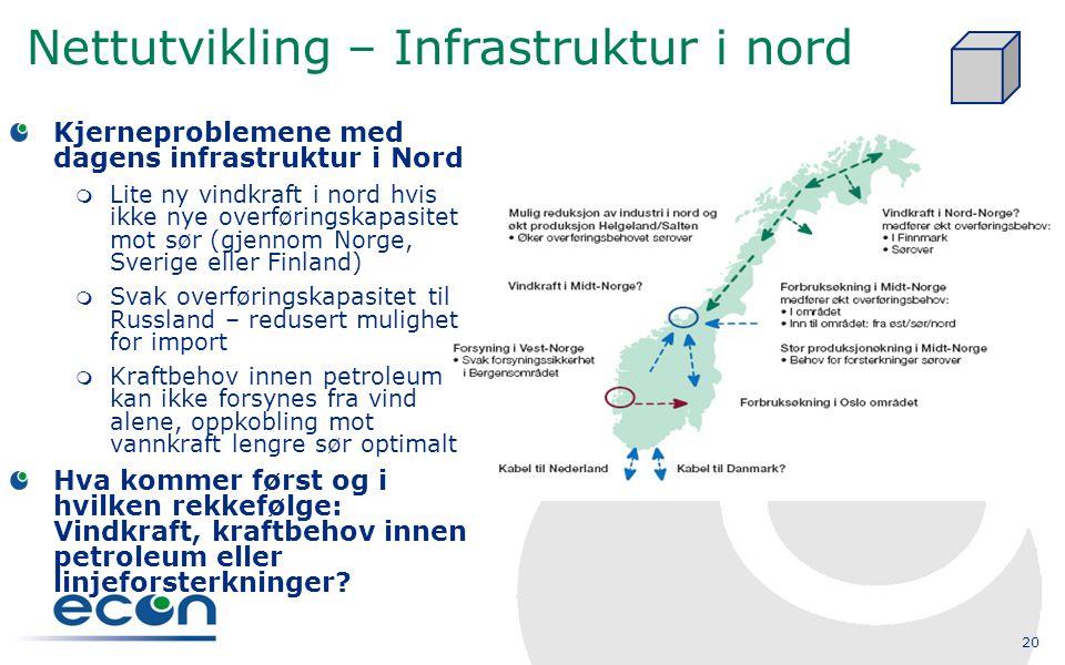 Nettutvikling – Infrastruktur i nord