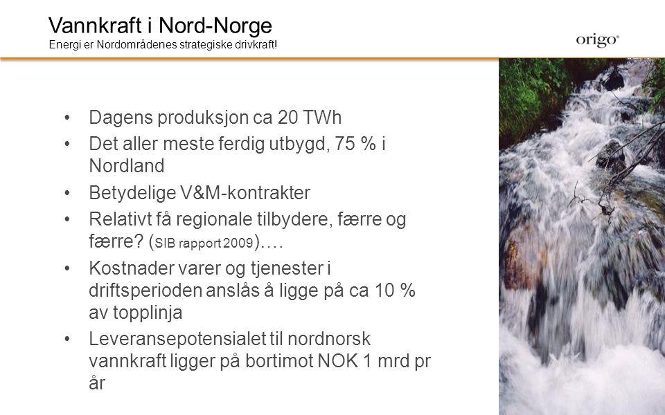 Vannkraft i Nord-Norge