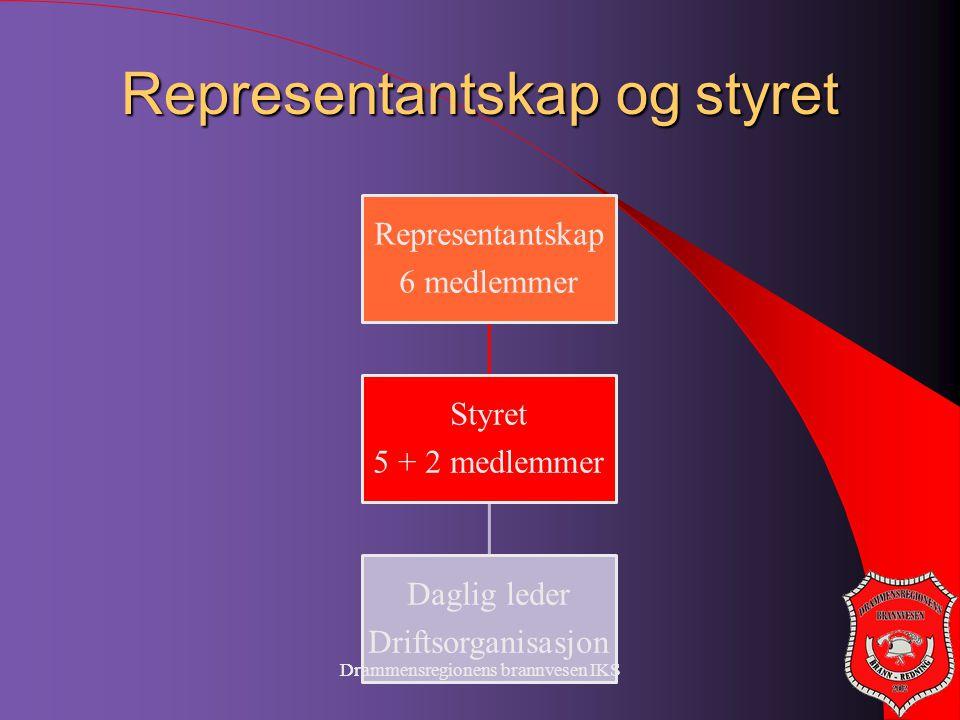 Representantskap og styret