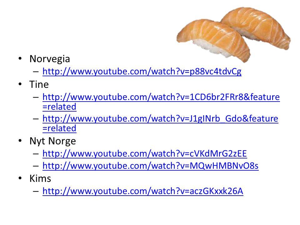 Norvegia Tine Nyt Norge Kims
