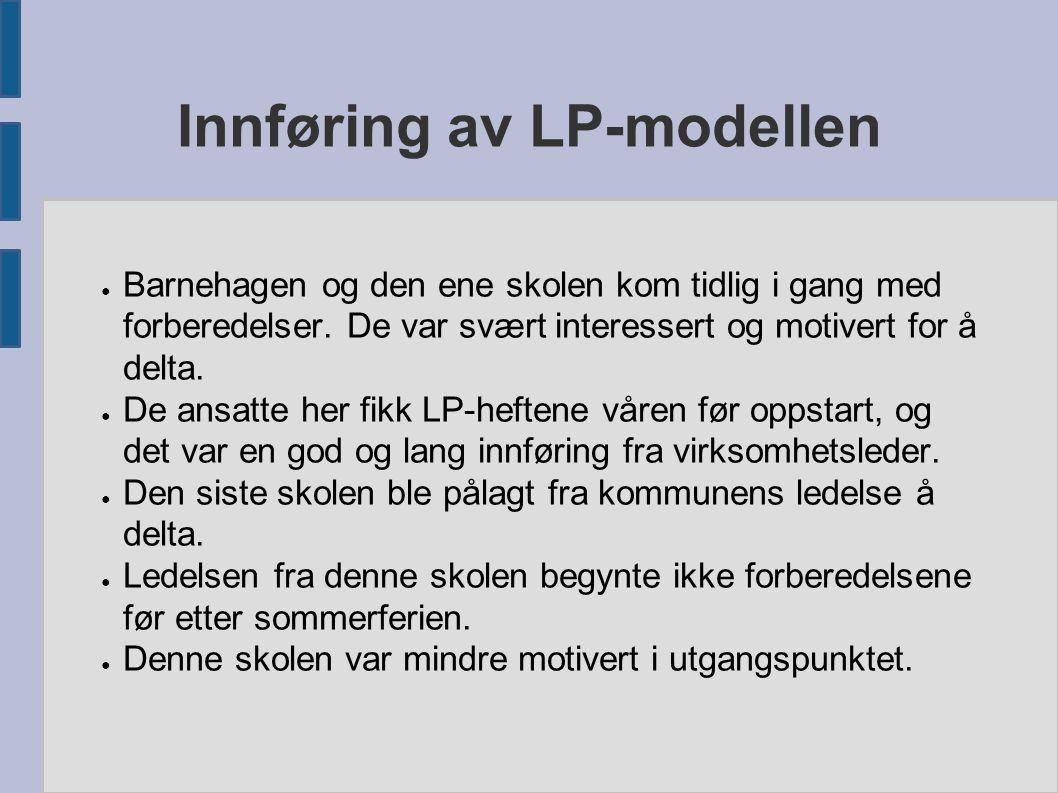Innføring av LP-modellen