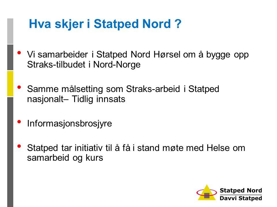 Hva skjer i Statped Nord