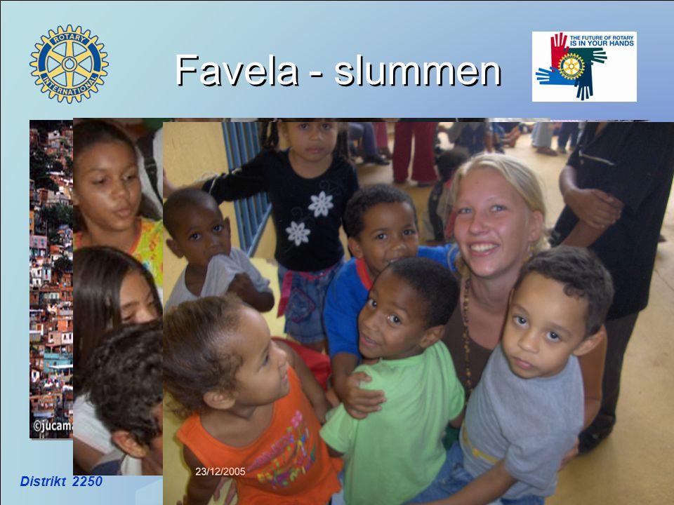 Favela - slummen Distrikt 2250