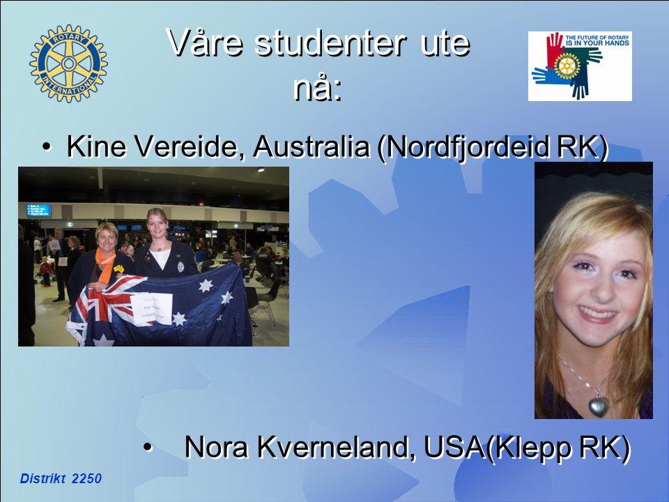 Våre studenter ute nå: Kine Vereide, Australia (Nordfjordeid RK)