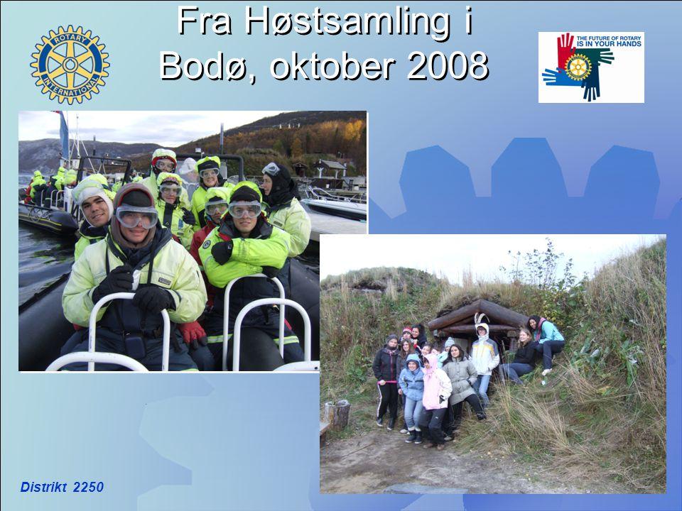 Fra Høstsamling i Bodø, oktober 2008
