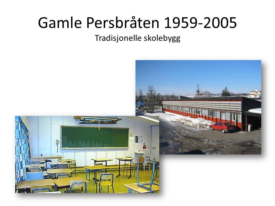 Gamle Persbråten 1959-2005 Tradisjonelle skolebygg