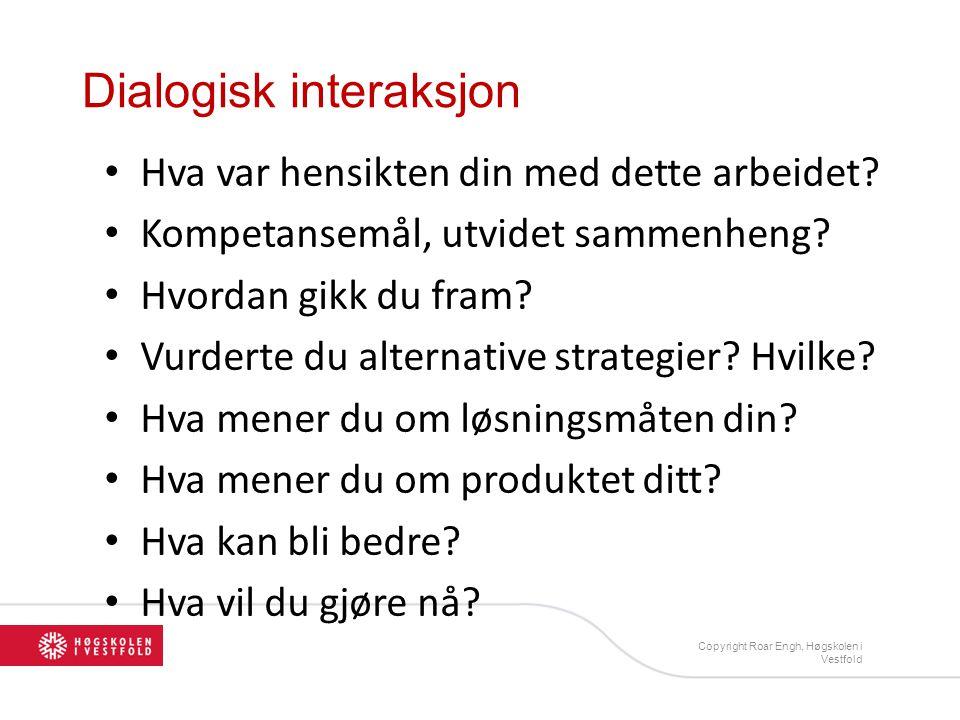 Dialogisk interaksjon