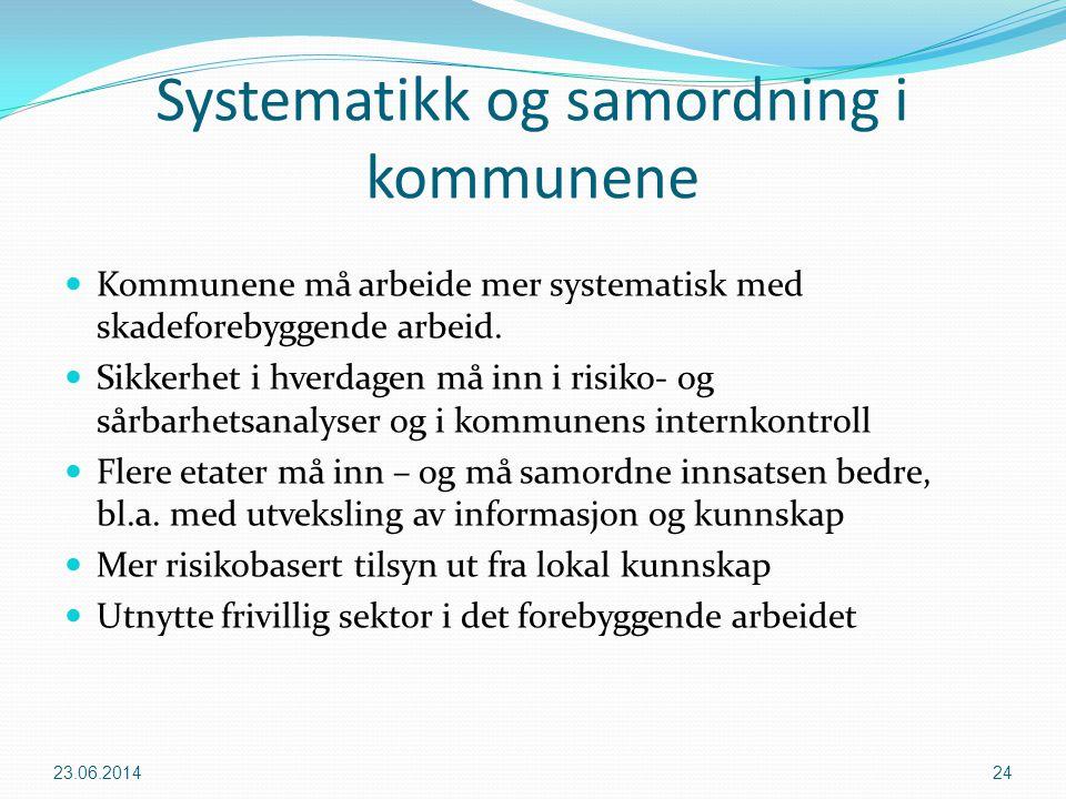 Systematikk og samordning i kommunene