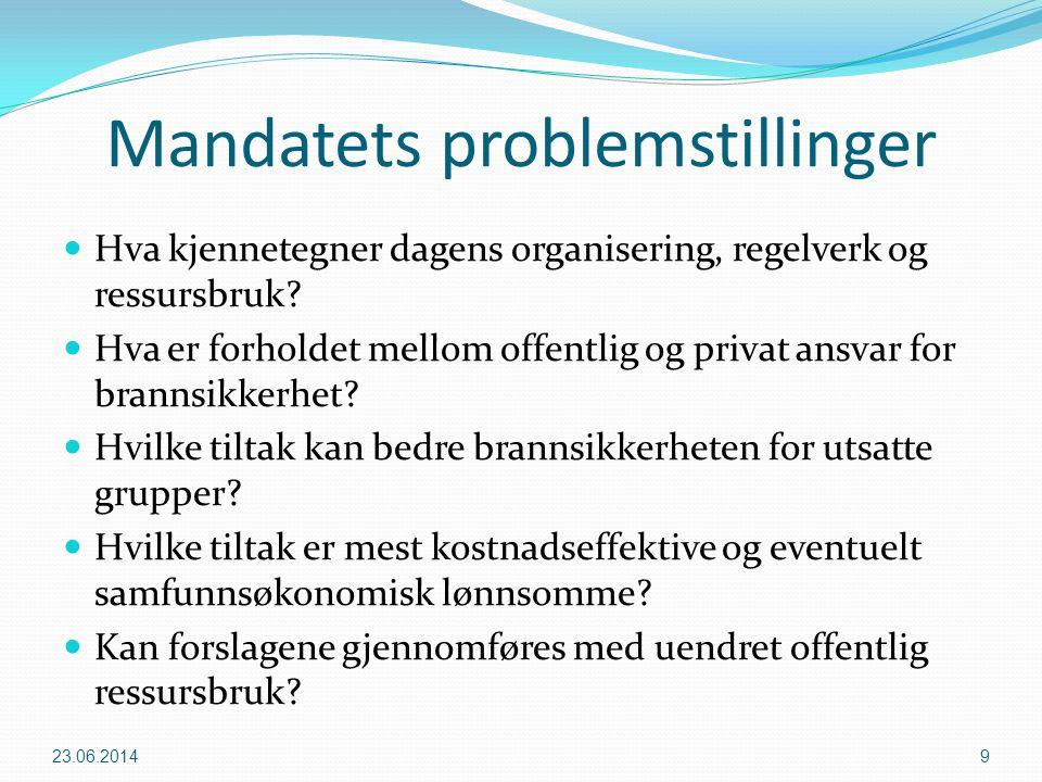 Mandatets problemstillinger
