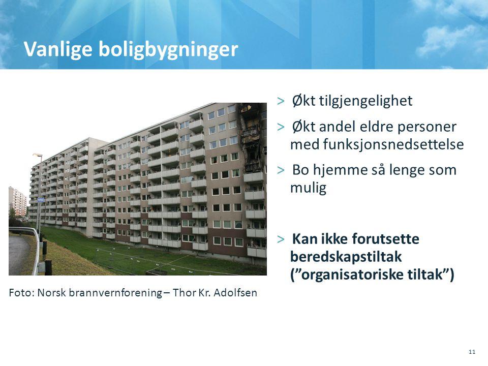 Vanlige boligbygninger