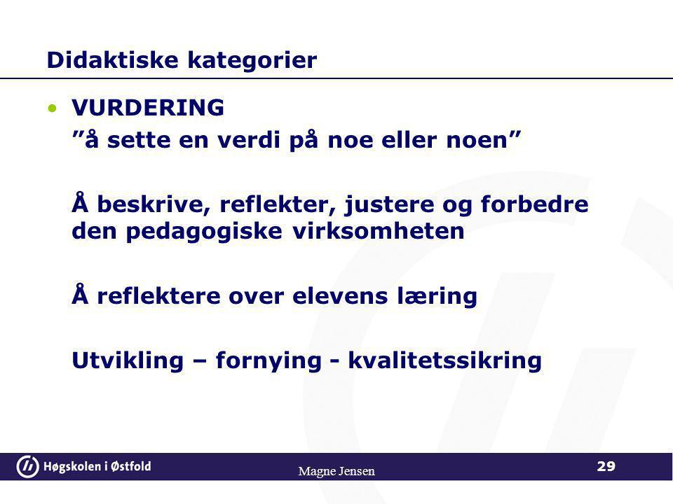 Didaktiske kategorier
