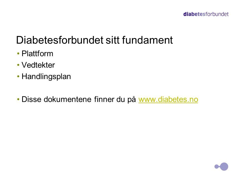 Diabetesforbundet sitt fundament