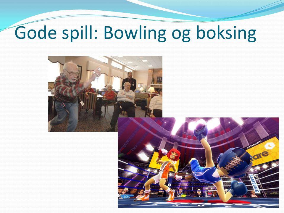 Gode spill: Bowling og boksing