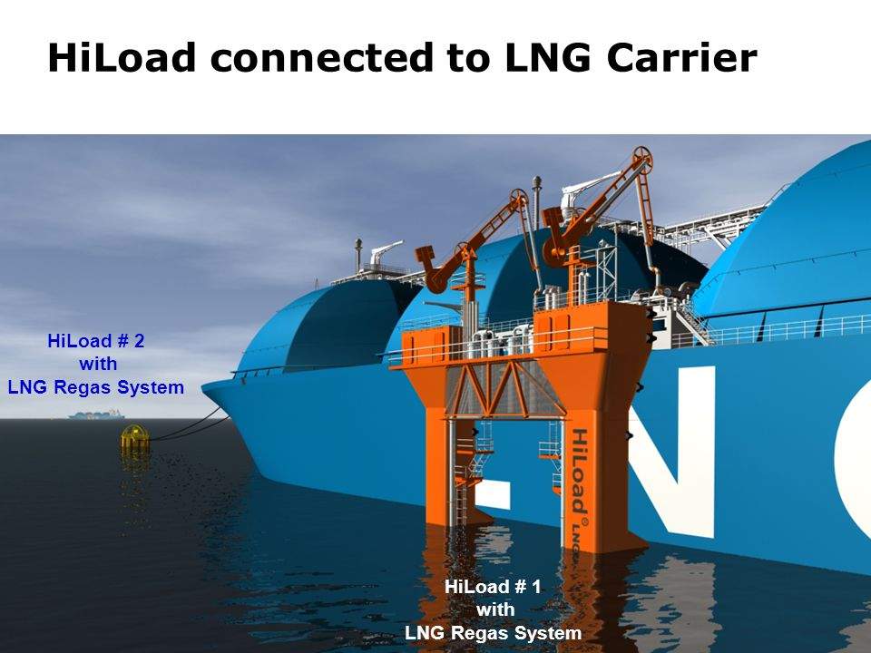 HiLoad connected to LNG Carrier