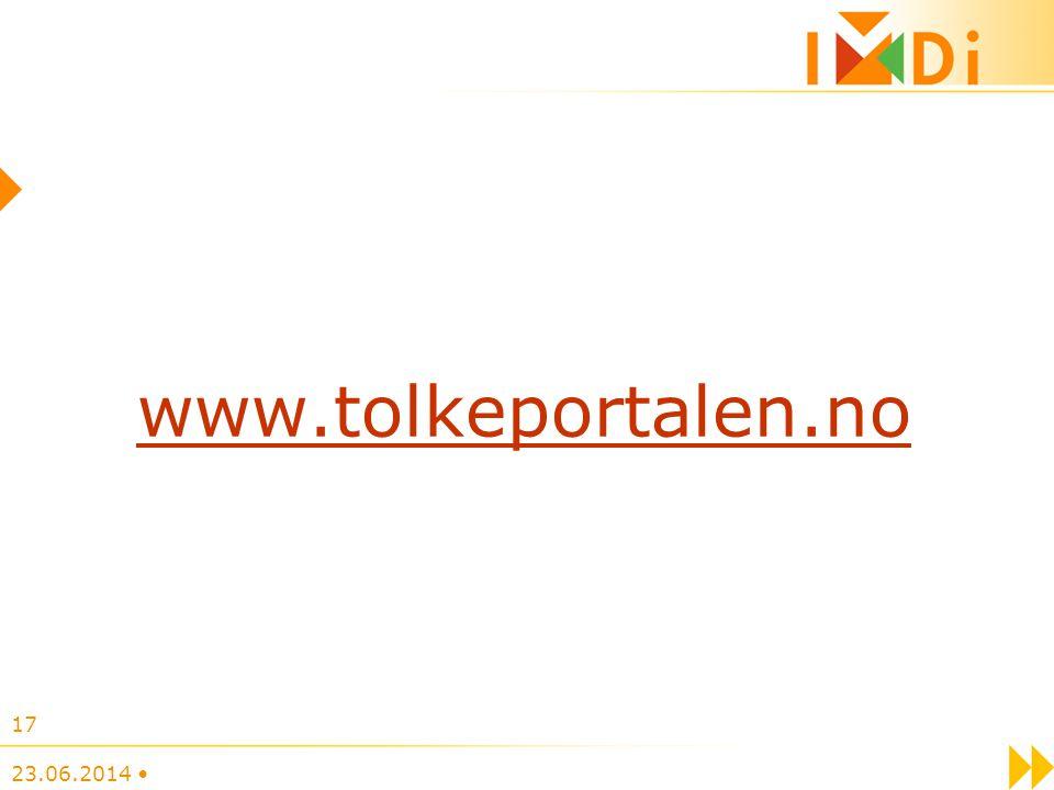 www.tolkeportalen.no 03.04.2017 •