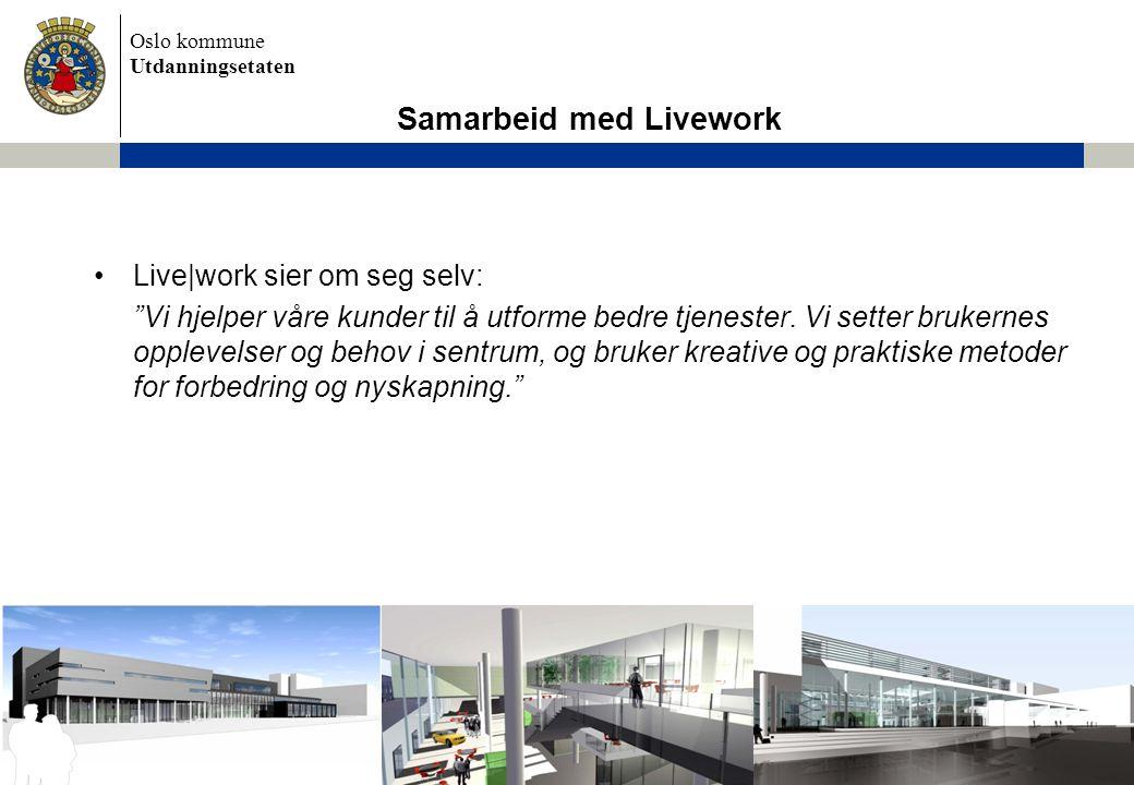 Samarbeid med Livework