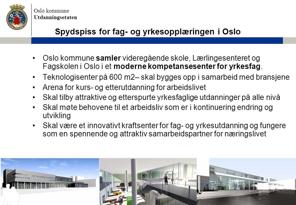 Spydspiss for fag- og yrkesopplæringen i Oslo