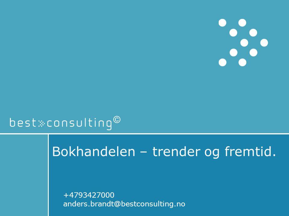 Bokhandelen – trender og fremtid.