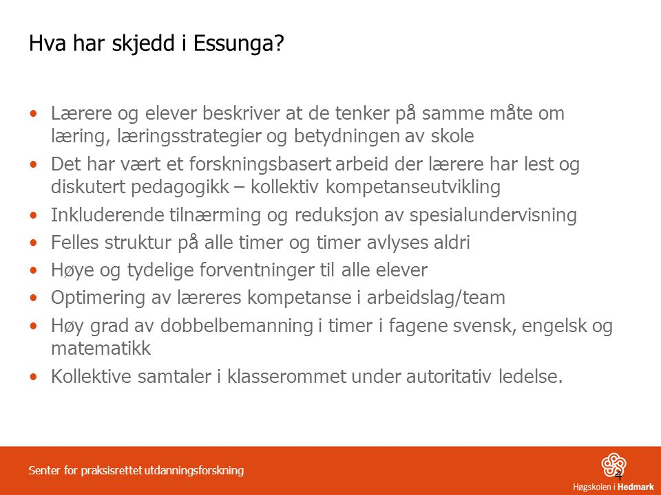 Hva har skjedd i Essunga