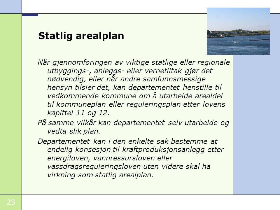 Statlig arealplan