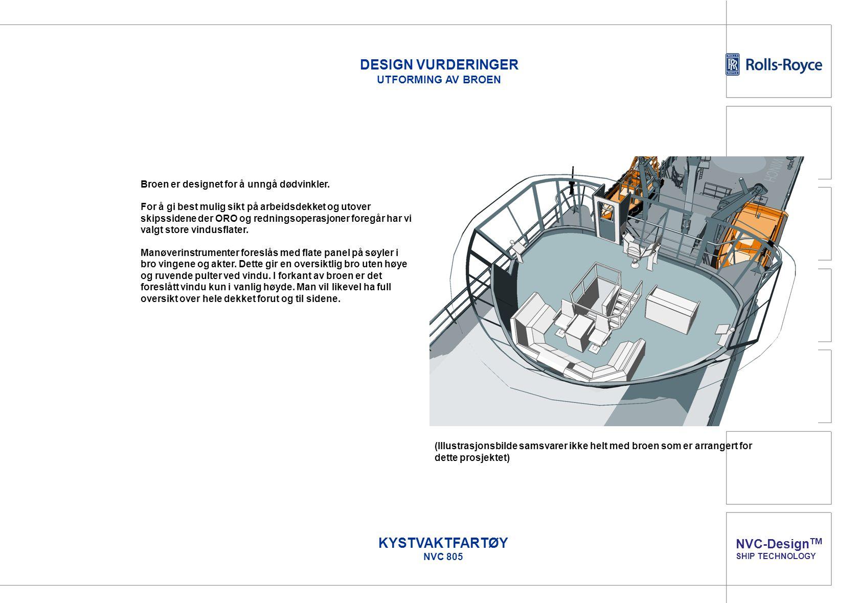 DESIGN VURDERINGER UTFORMING AV BROEN