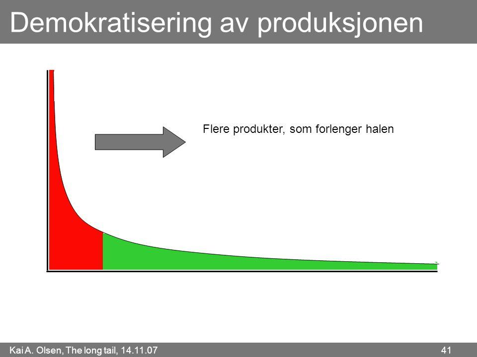 Demokratisering av produksjonen