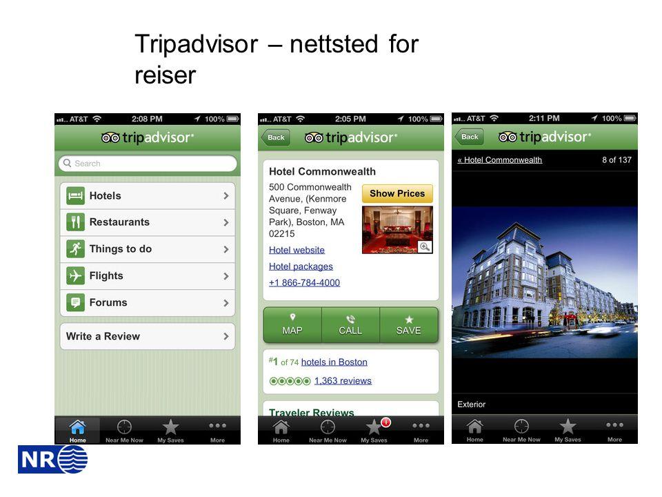 Tripadvisor – nettsted for reiser