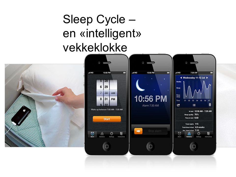 Sleep Cycle – en «intelligent» vekkeklokke