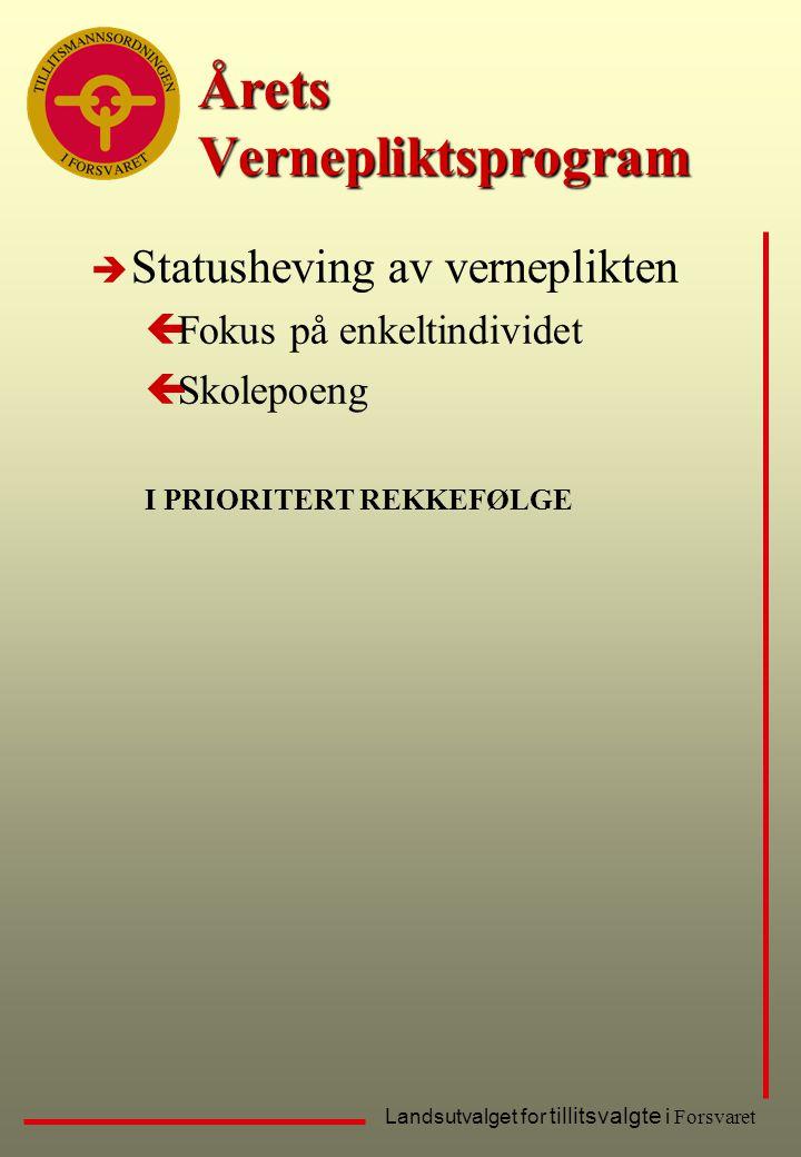 Årets Vernepliktsprogram