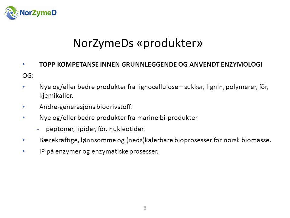 NorZymeDs «produkter»