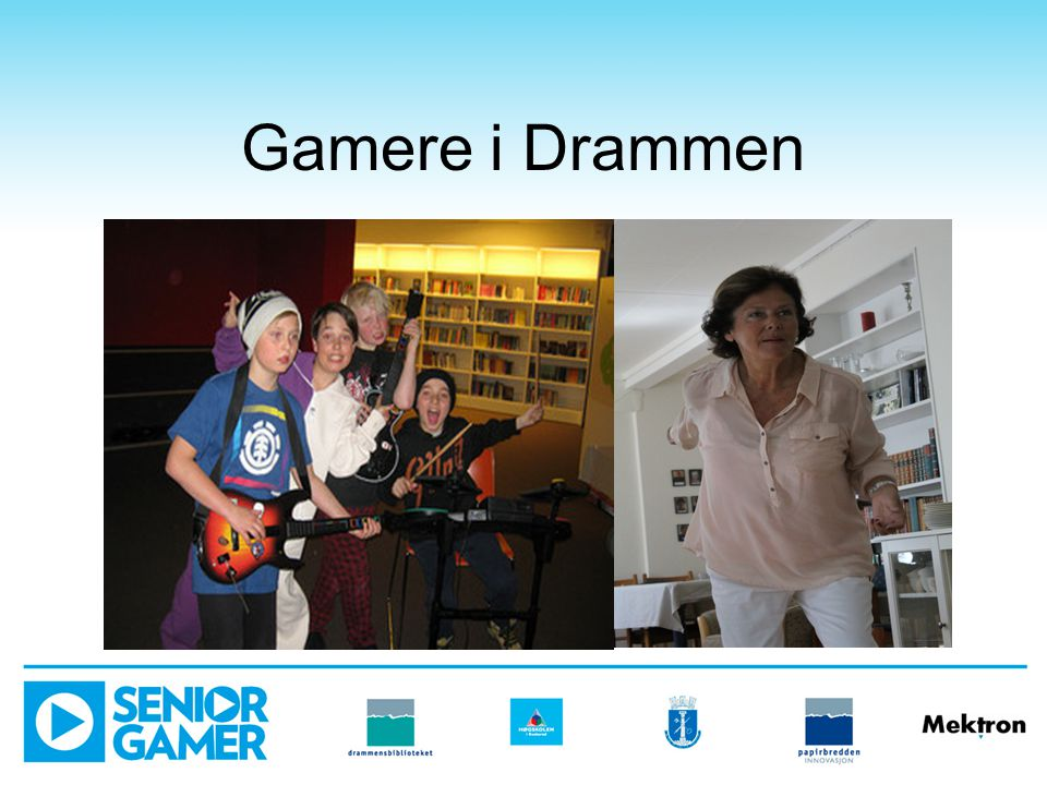 Gamere i Drammen Finnes det en typisk gamer.