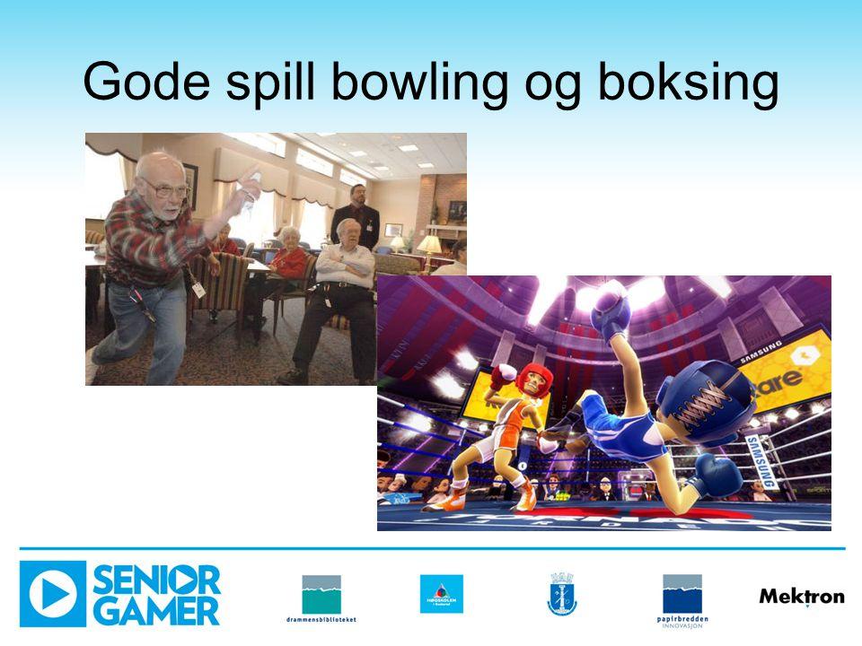 Gode spill bowling og boksing