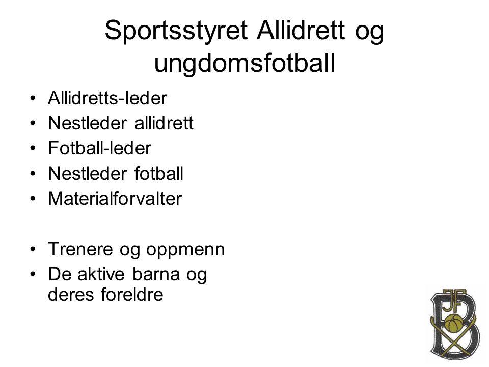 Sportsstyret Allidrett og ungdomsfotball