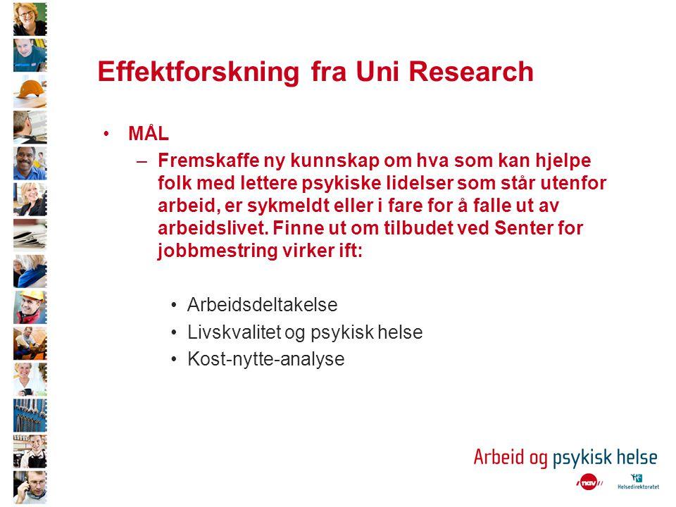 Effektforskning fra Uni Research