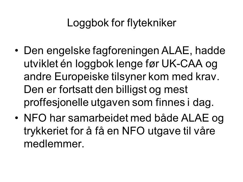 Loggbok for flytekniker