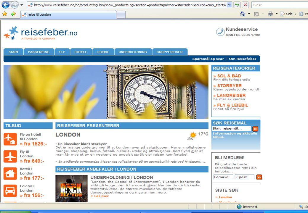 I dag er det billigere å bestille en reise på nettet