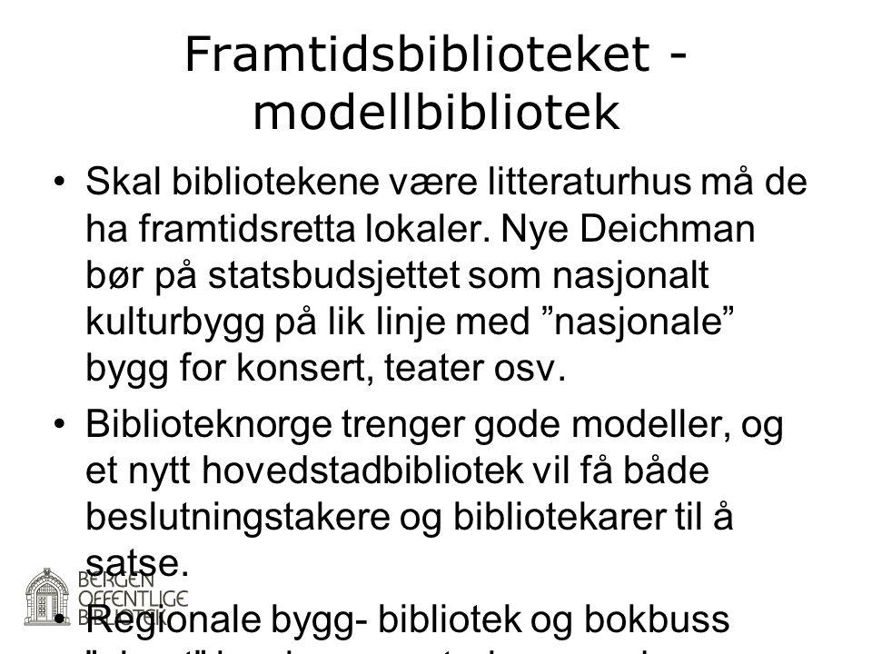 Framtidsbiblioteket - modellbibliotek