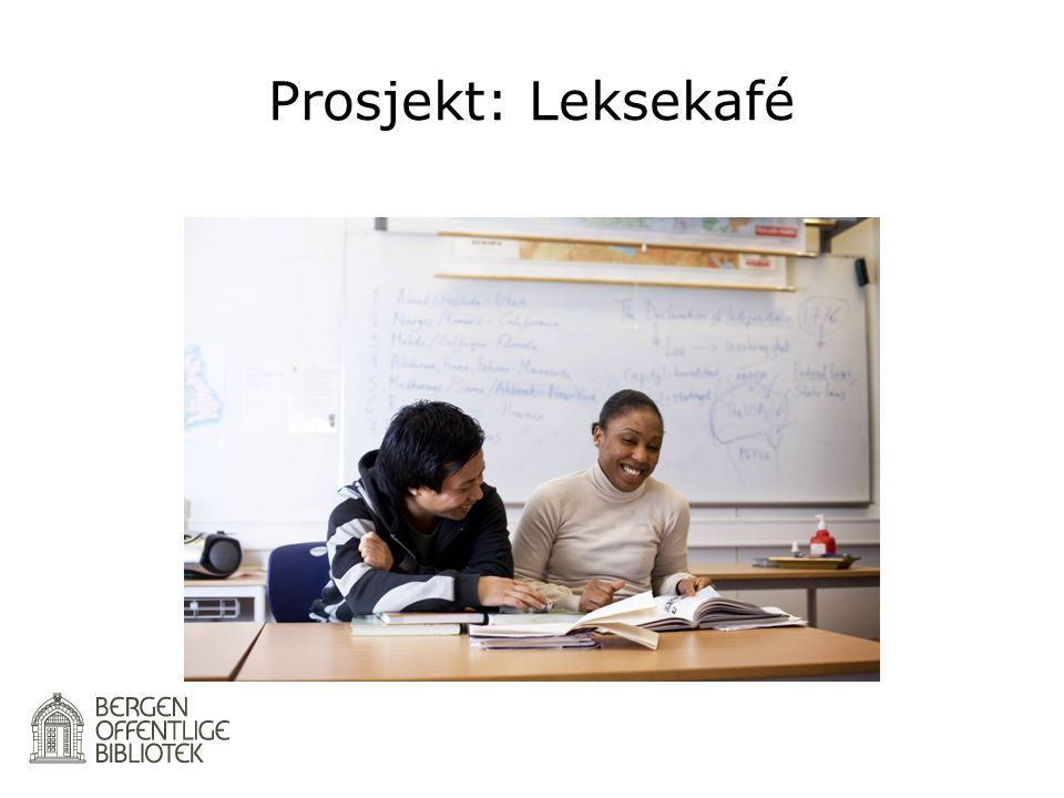 Prosjekt: Leksekafé