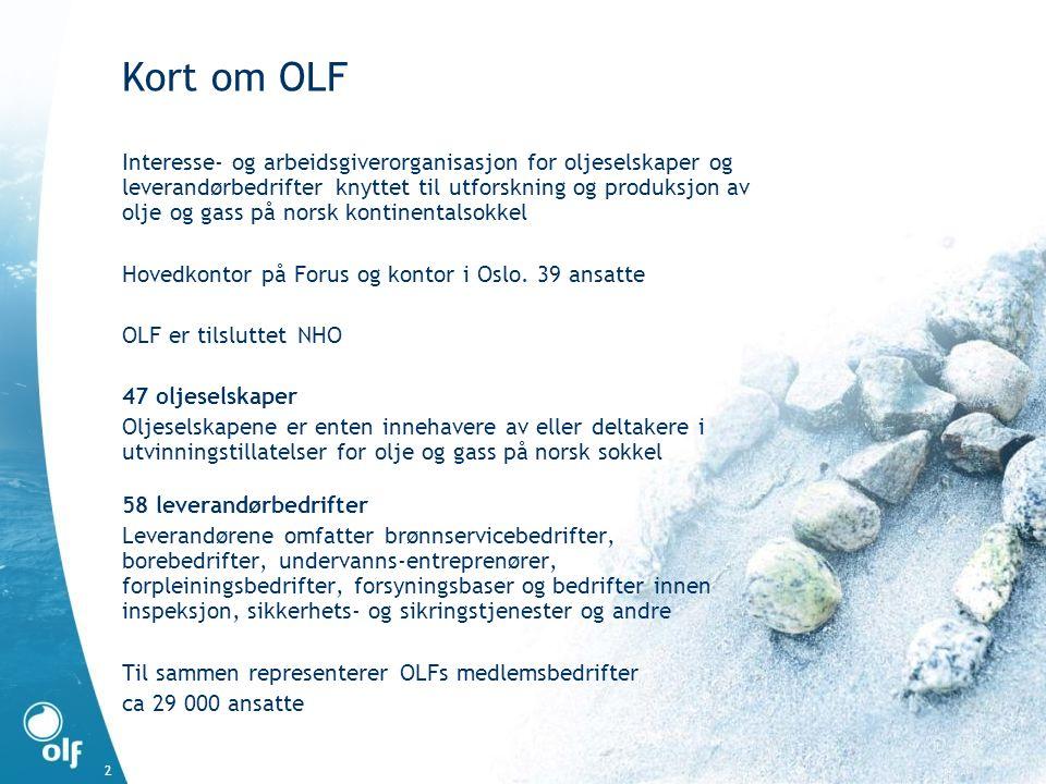 Kort om OLF