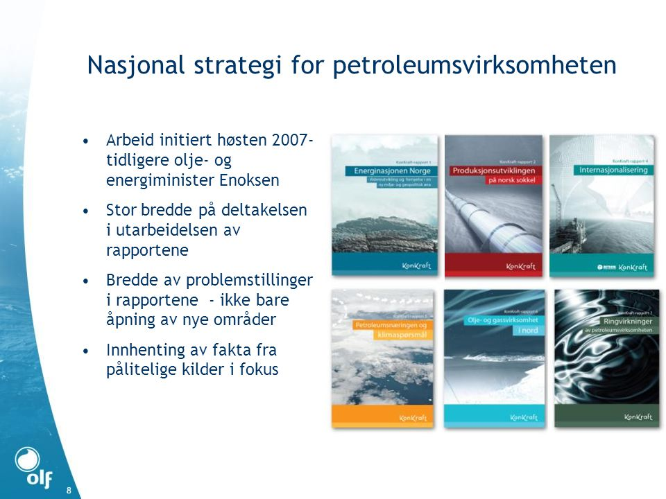 Nasjonal strategi for petroleumsvirksomheten