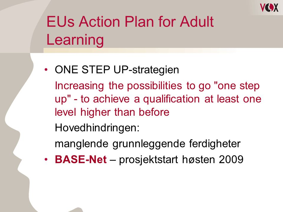 EUs Action Plan for Adult Learning