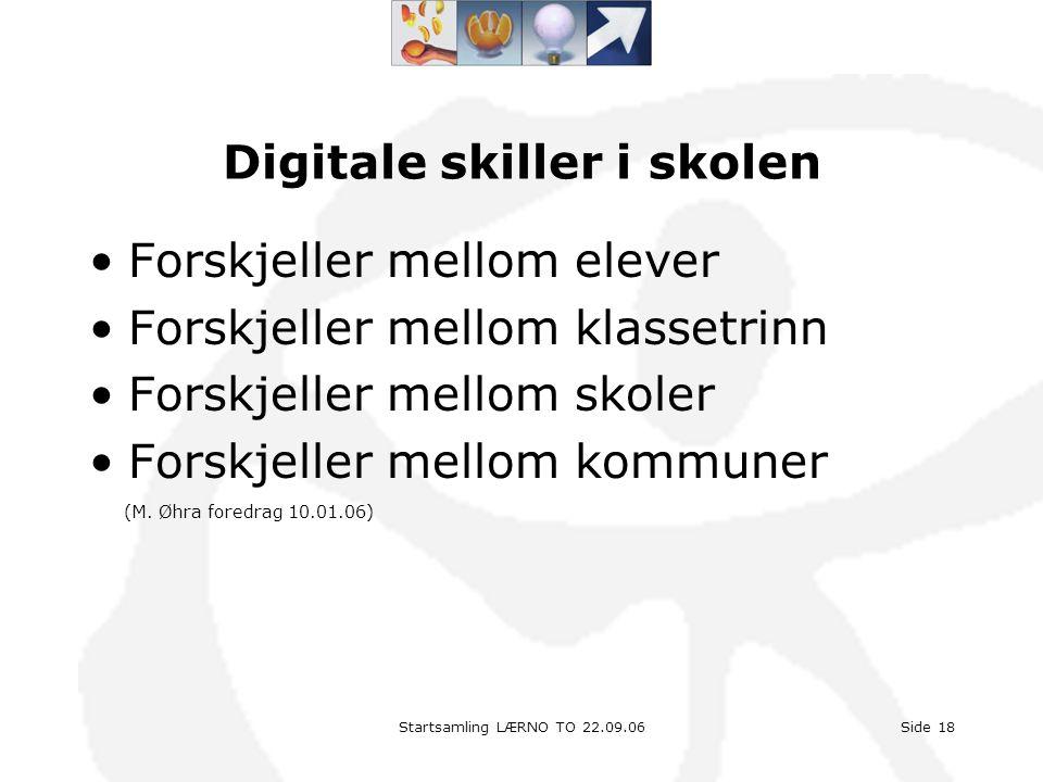 Digitale skiller i skolen