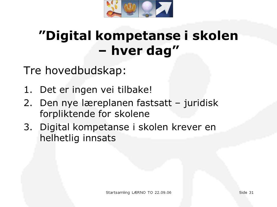 Digital kompetanse i skolen – hver dag