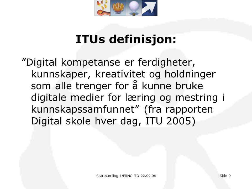 ITUs definisjon: