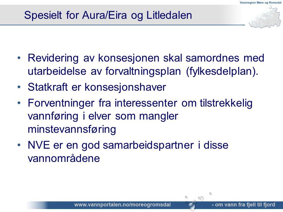 Spesielt for Aura/Eira og Litledalen