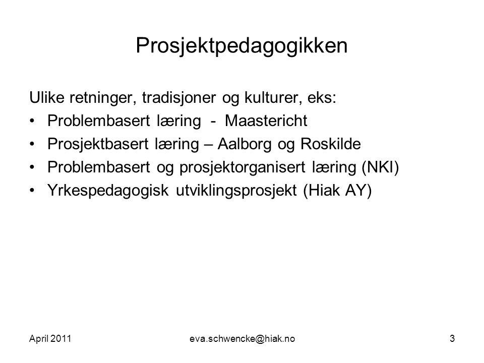 Prosjektpedagogikken