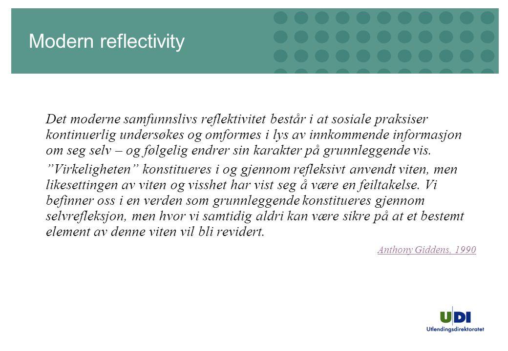 Modern reflectivity