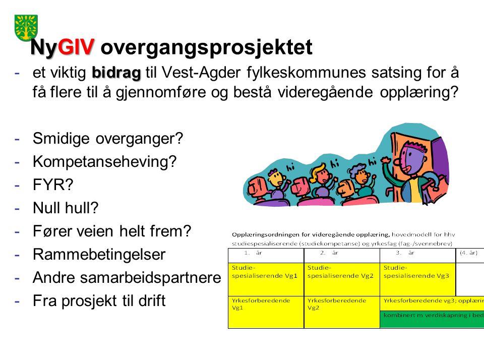 NyGIV overgangsprosjektet